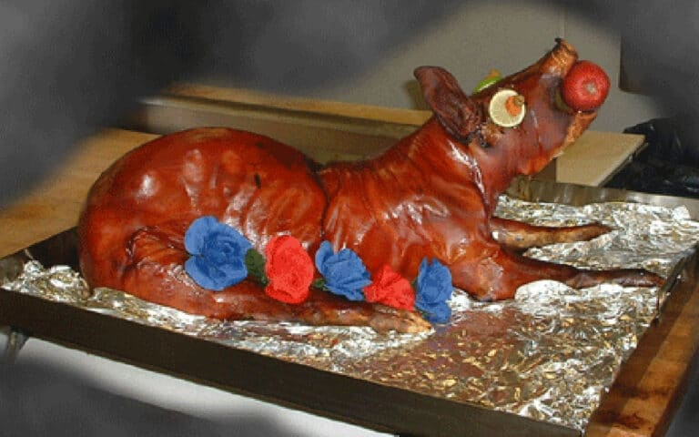 pig roast in kenosha, hometown meats catering and deli, meat catering
